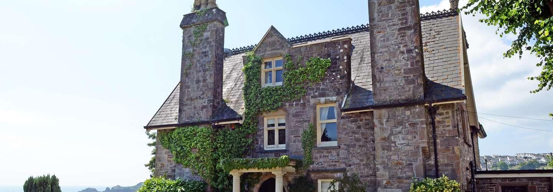 The Priory - Country Manor House, Log Burner, Sea Views, Pet Friendly  - Priory House