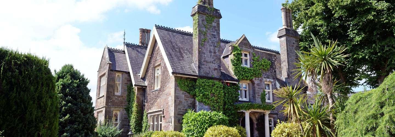 The Priory - Country Manor House, Log Burner, Sea Views, Pet Friendly  - Priory