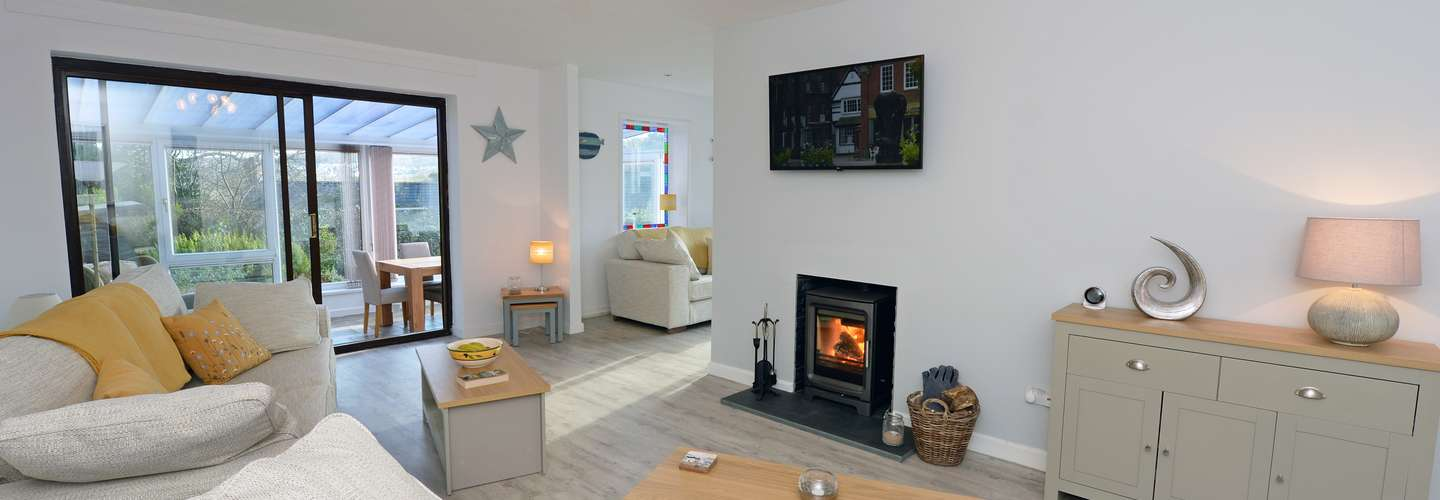 Sêr Môr - Log Burner, Peaceful Cottage, Dog Friendly - Saundersfoot Cottage pet friendly