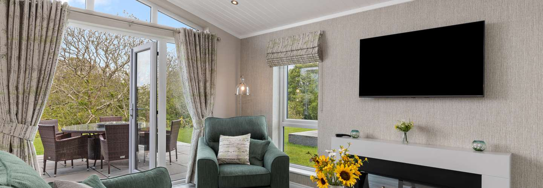 Trevelyn Lodge - Luxury Lodge, Hot Tub, Close to Beach - Luxury Lodge, Hot Tub, Close to Beach