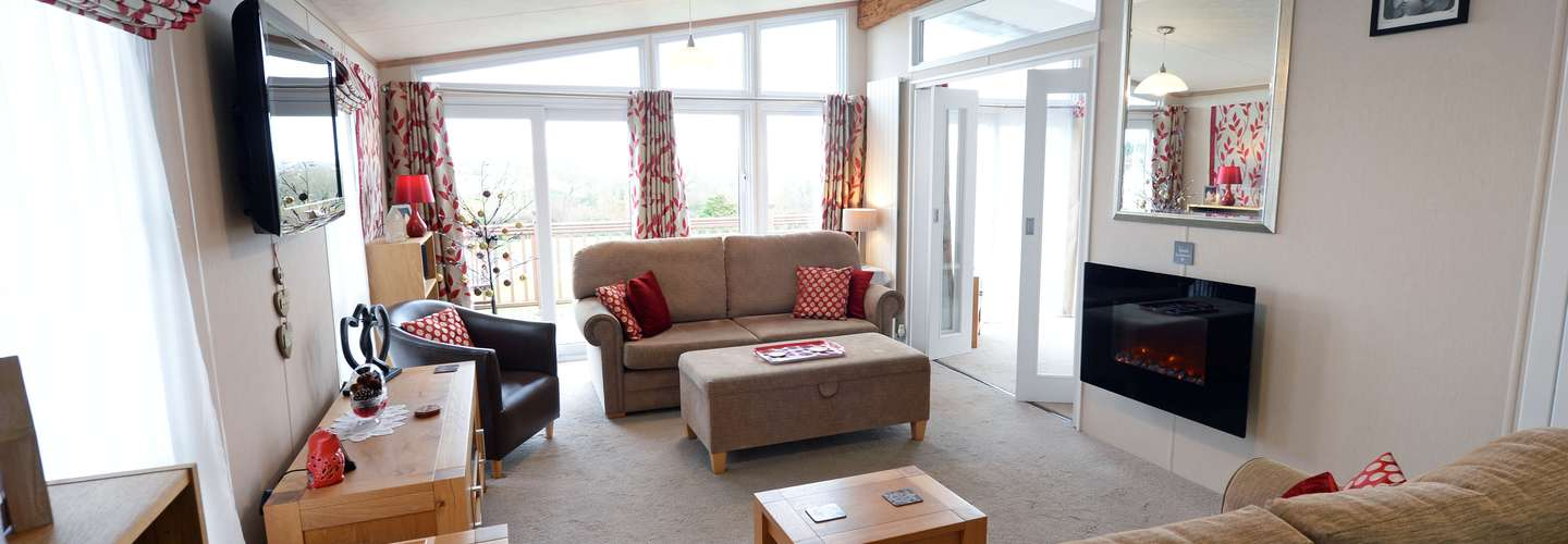 Moreton Lodge - Peaceful Luxury Lodge with Sea Views - Peaceful, sea views, Lodge