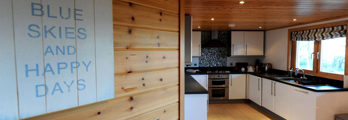 1 Longbury Lodge - Woodland Lodge, Near Tenby - Kitchen2