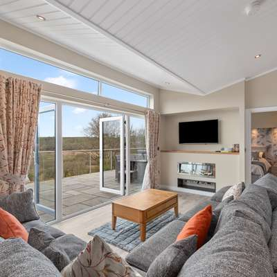 Valley View Lodge - Luxury Lodge, Hot Tub, Close to Beach - Luxury Lodge, Cottage, Hot Tub