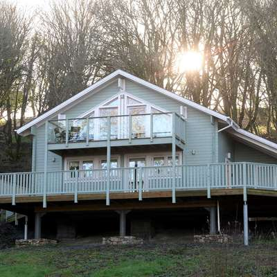 Lodge 5 Longbury - Luxury Woodland Lodge, Near Tenby - Lodge 5